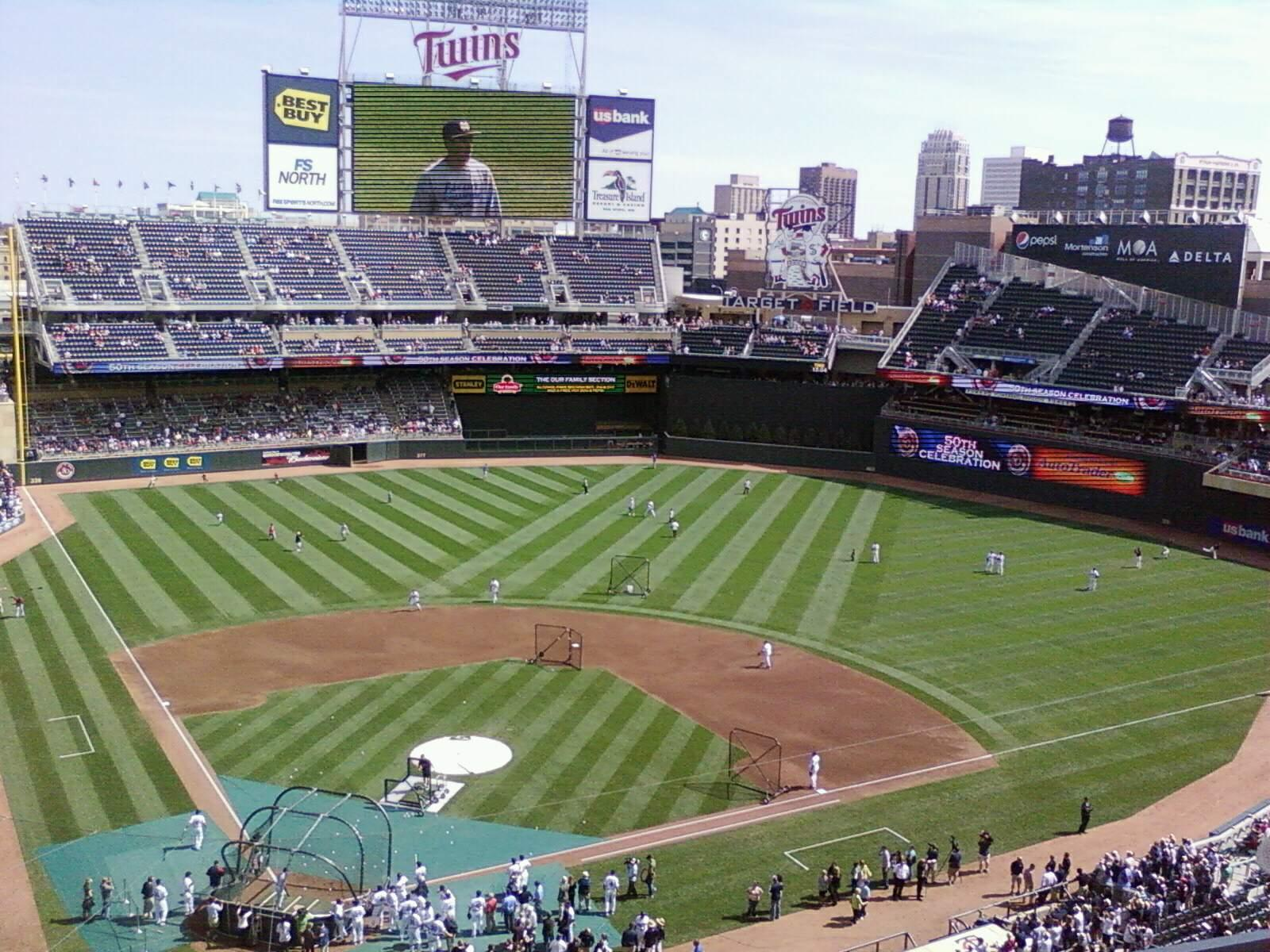 Target Field Section 218