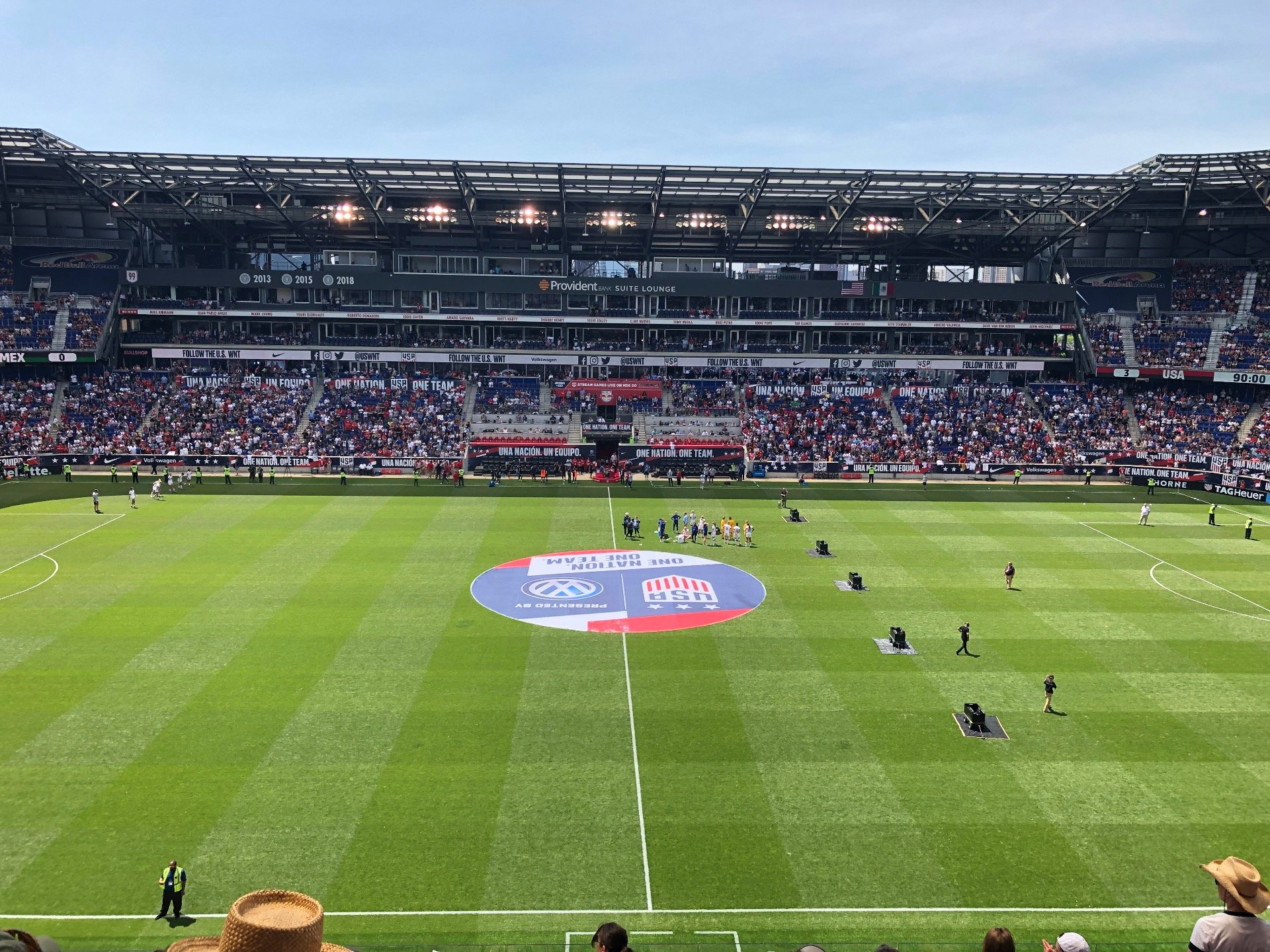 Red Bull Arena (New Jersey) Section 226 Row 12 Seat 17