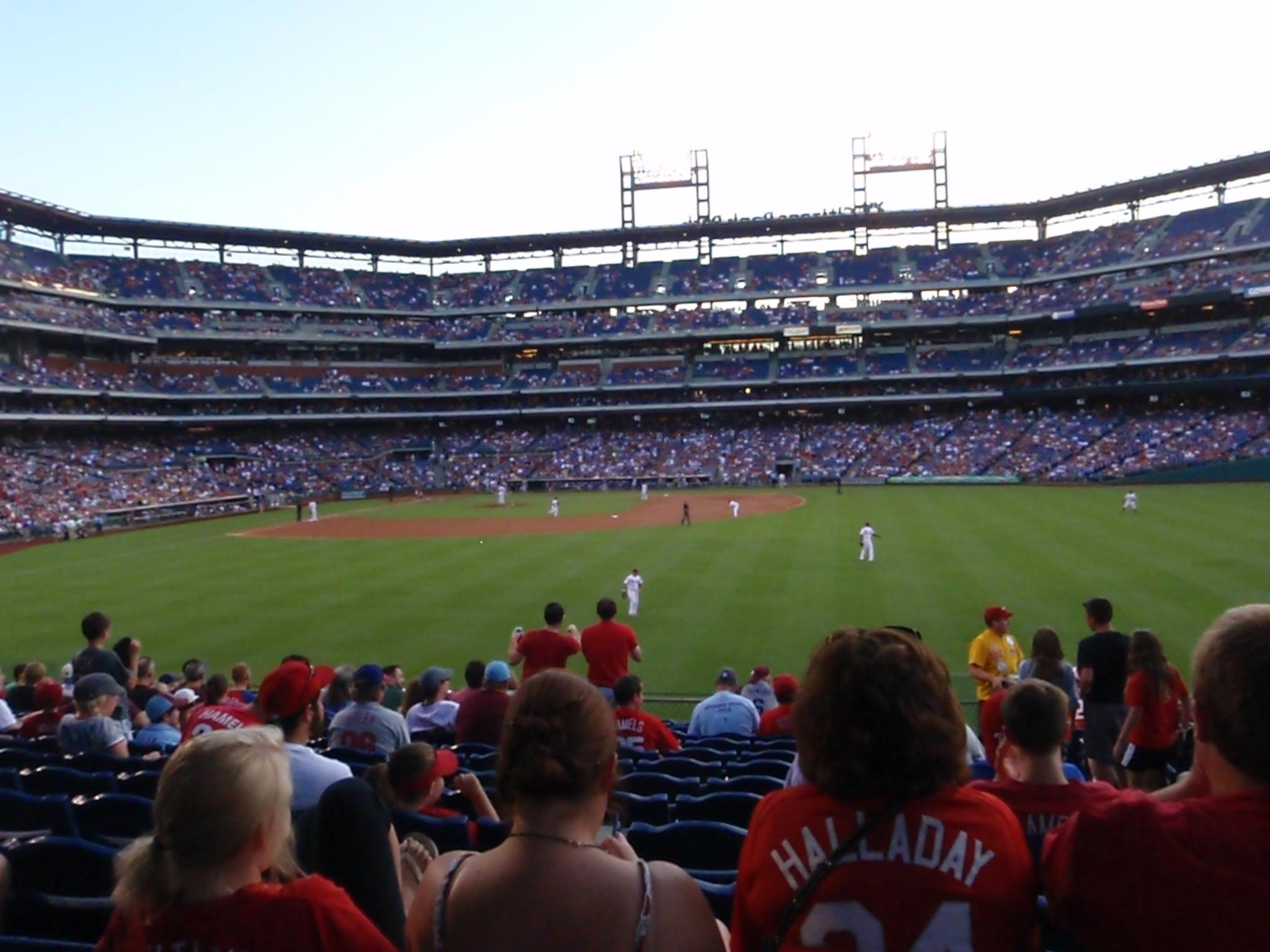 Citizens Bank Park section 103 row 14 seat 2 ...