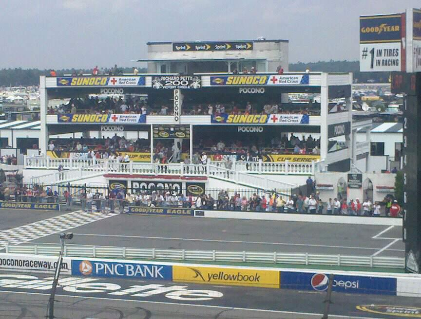 Pocono Raceway Section 224