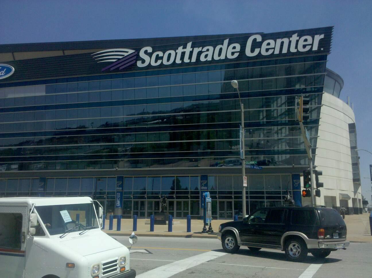 Enterprise Center Section Clark Ave Entrance