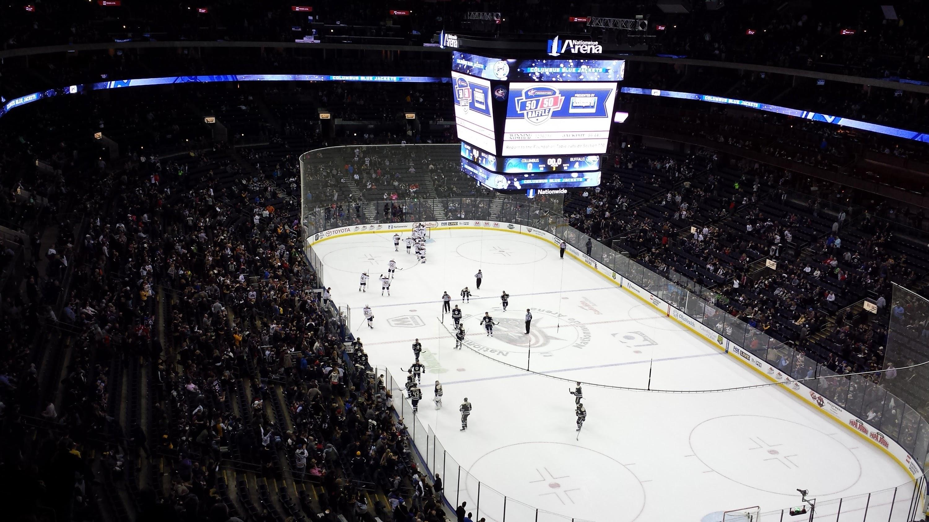 Nationwide Arena Section 226 Row P Seat 11