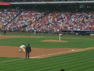 Citizens Bank Park Section 136 Row 25 Seat 16