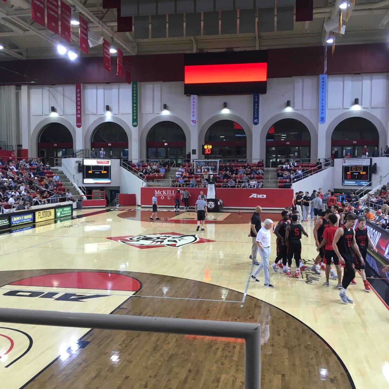 John M. Belk Arena Section 18 Row B Seat 1