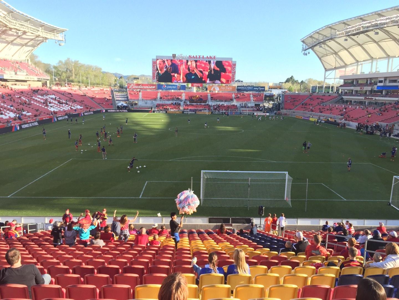 Rio Tinto Stadium Section 29 Row Z Seat 10