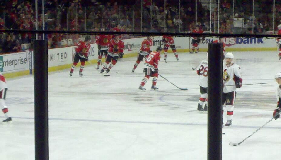 United Center Section 117 Row 10 Seat 1
