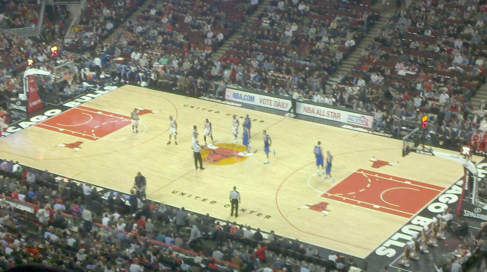 United Center Section 314 Row 15 Seat 19