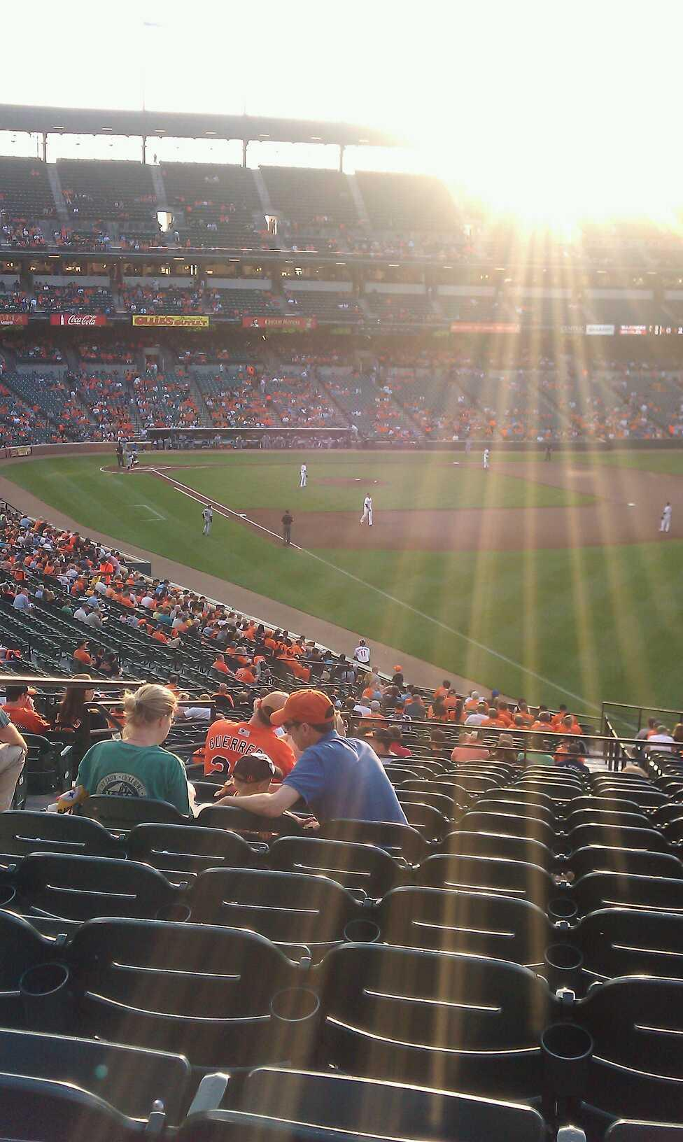 Oriole Park at Camden Yards Section 5 Row 14 Seat 9