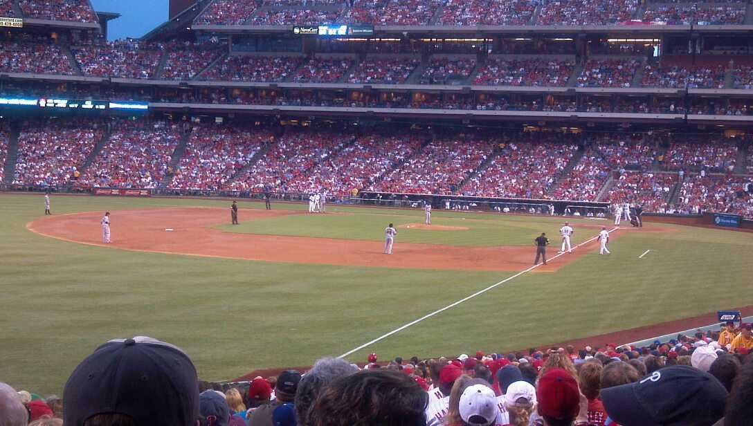 Citizens Bank Park Section 139 Row 33 Seat 14