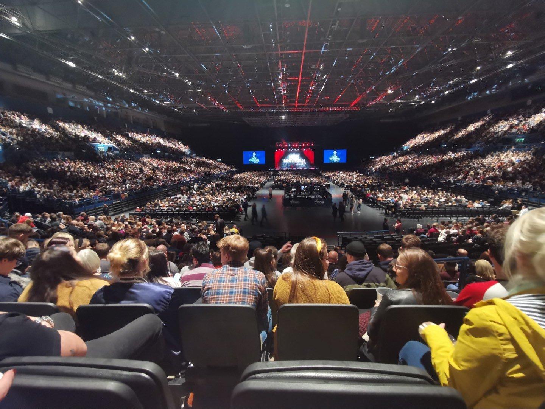 Arena Birmingham Section 7 Lower Row S Seat 277