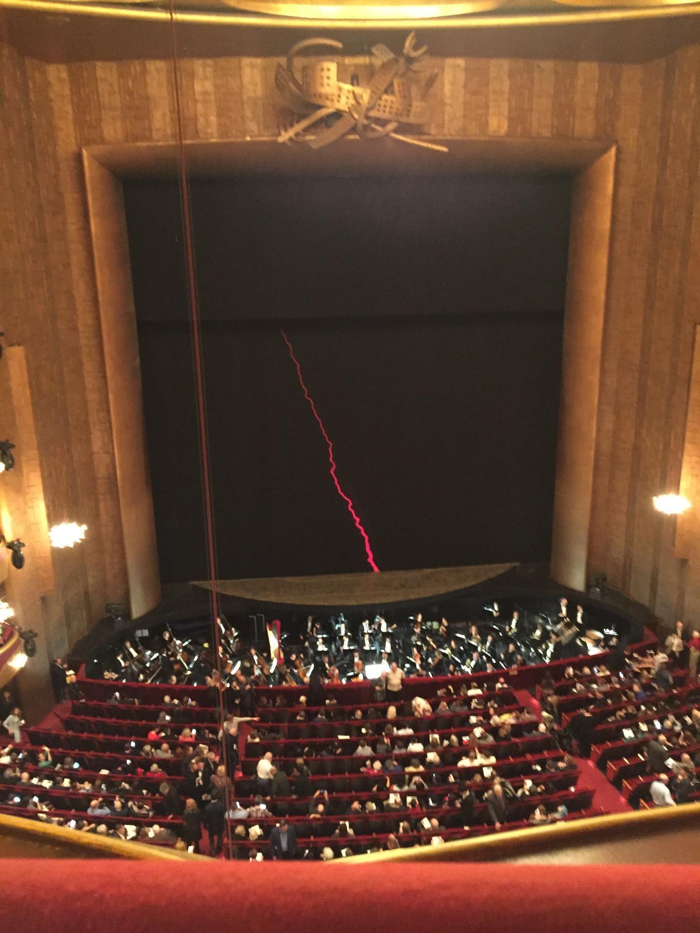 Metropolitan Opera House - Lincoln Center Section Balcony Row A Seat 111