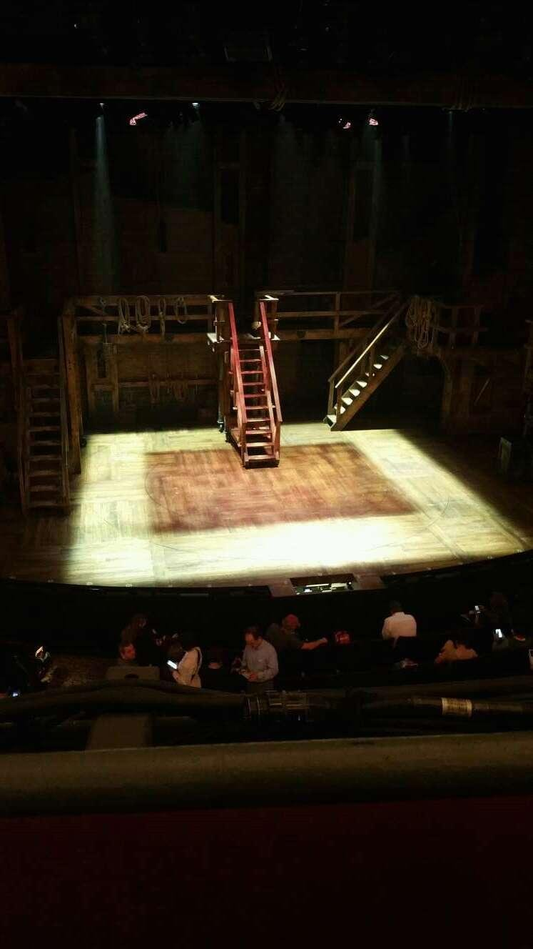 Richard Rodgers Theatre Section FMEZZ Row A Seat 114