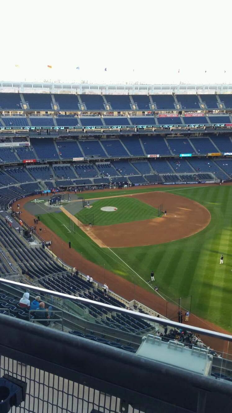 Yankee Stadium Section 409 Row 2 Seat 8