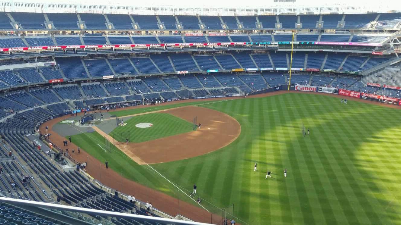 Yankee Stadium Section 409 Row 2 Seat 12
