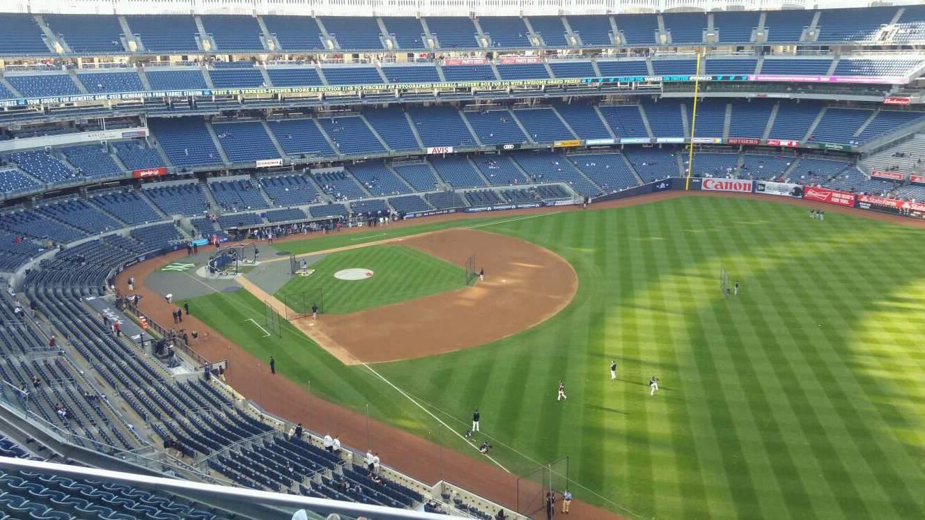 Yankee Stadium Section 409 Row 2 Seat 14