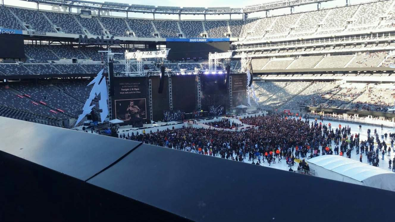 MetLife Stadium Section 234 Row 1 Seat 15