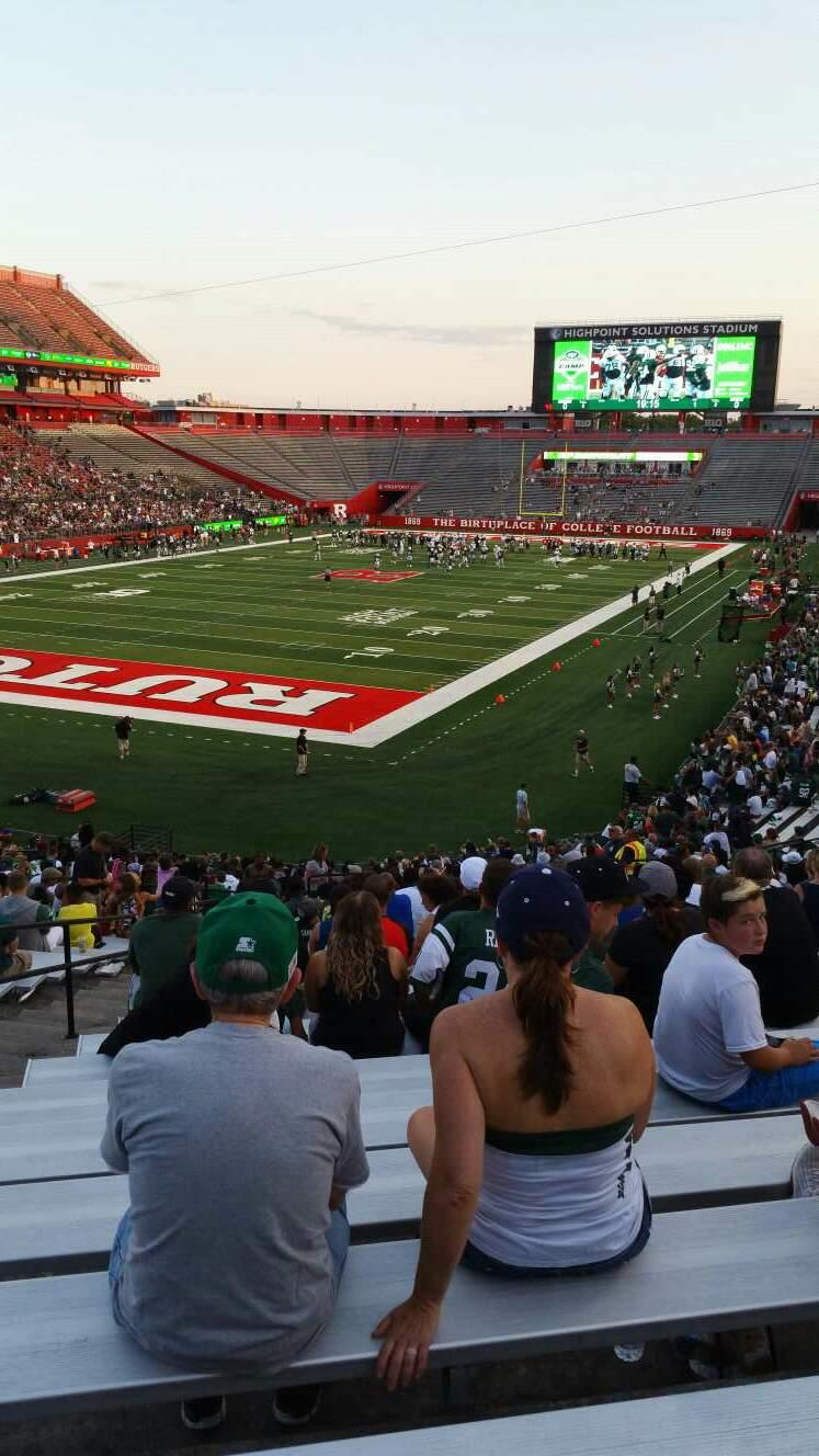 High Point Solutions Stadium Section 111 Row 35 Seat 26