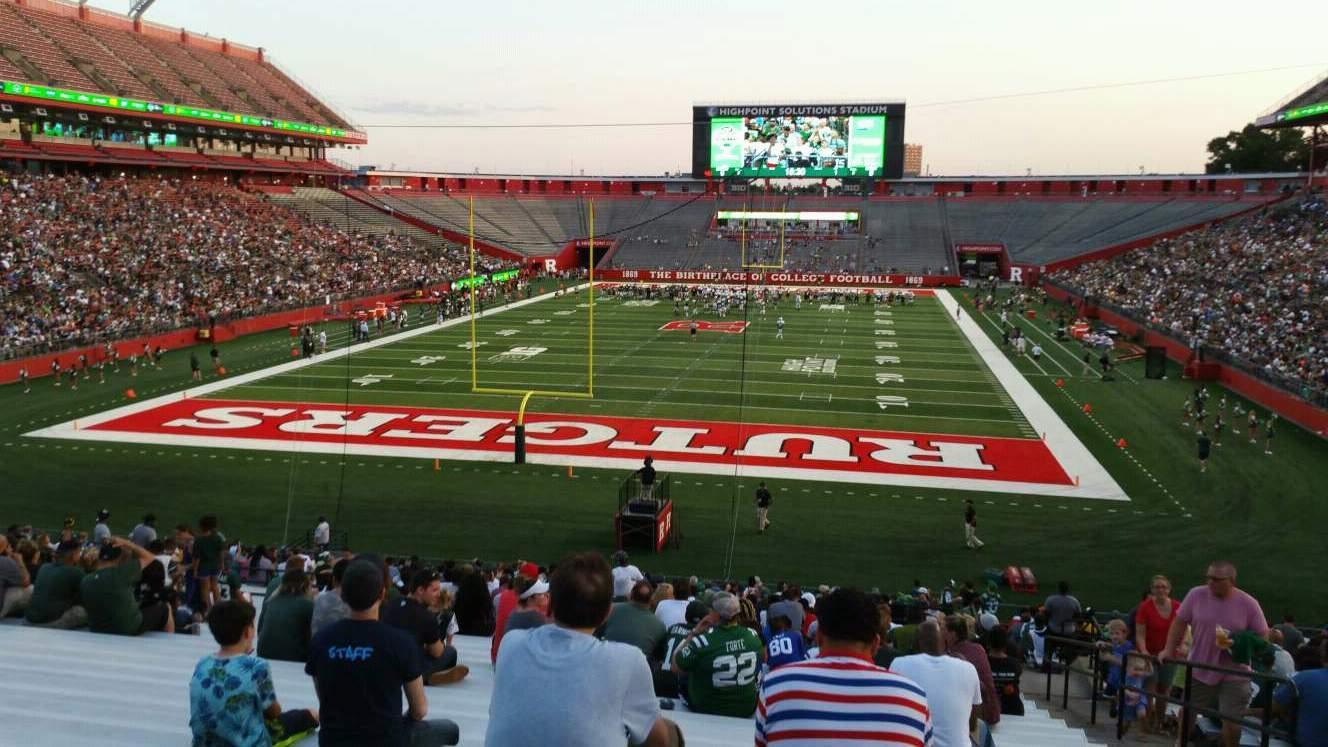 SHI Stadium Section 115 Row 34 Seat 4