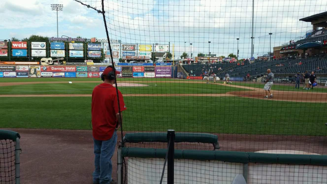 Coca-Cola Park Section 116 Row C Seat 11
