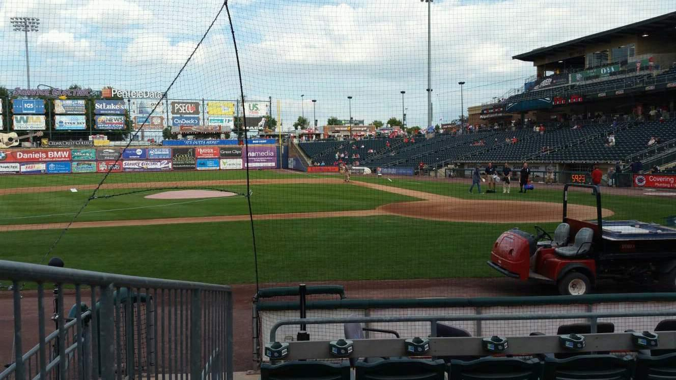 Coca-Cola Park Section 116 Row G Seat 11