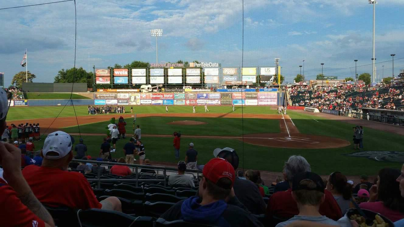 Coca-Cola Park Section 115 Row Q Seat 9