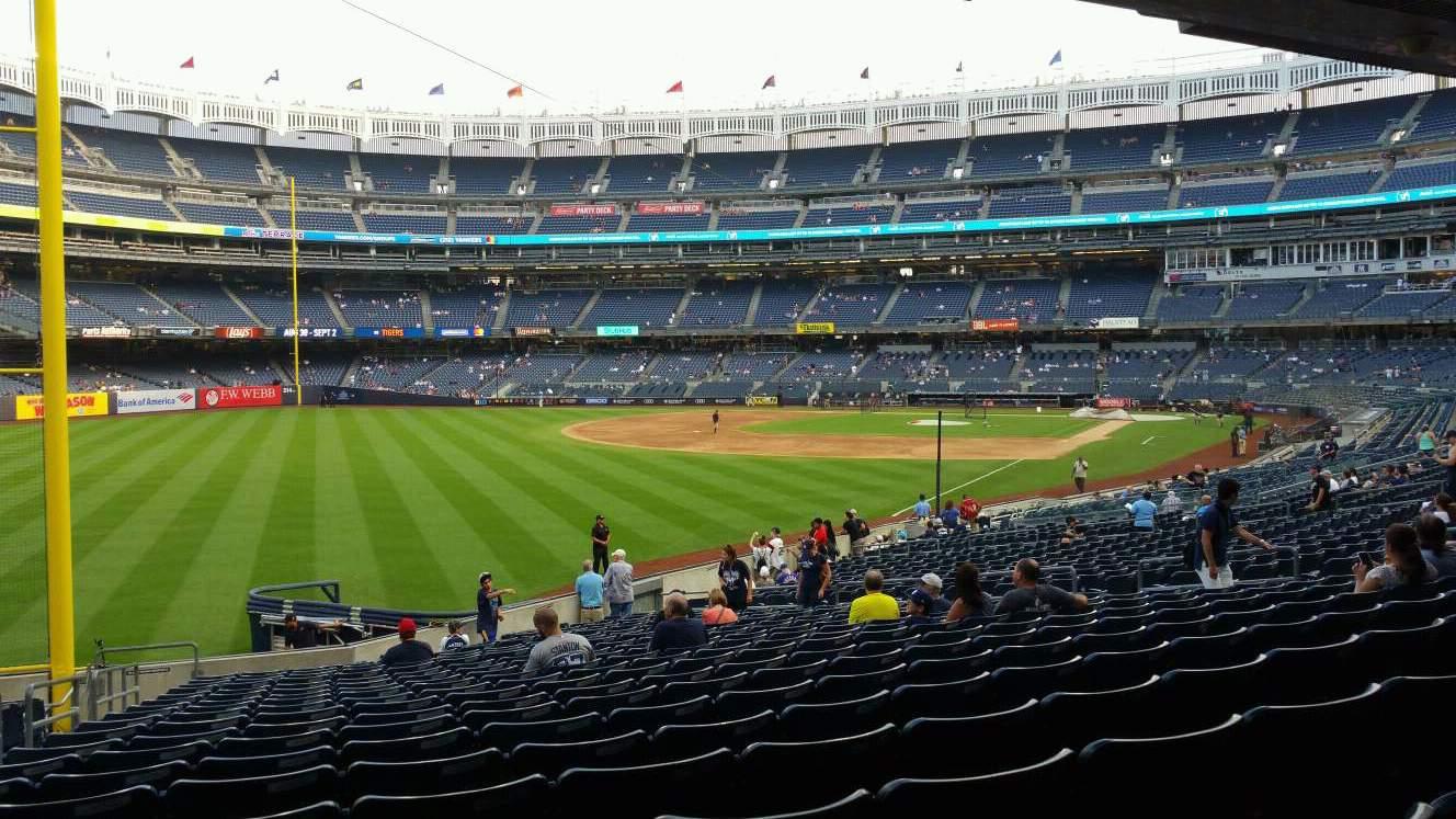 Yankee Stadium Section 131 Row 23 Seat 21