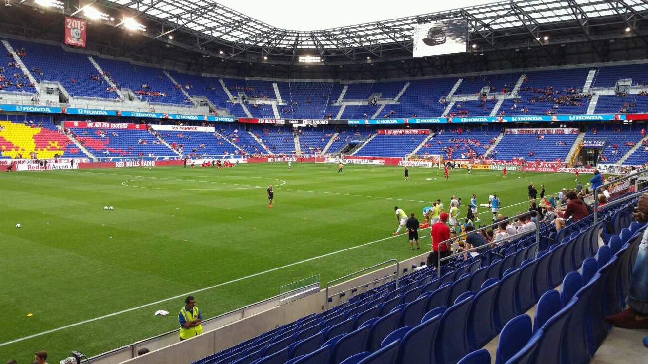 Red Bull Arena (New Jersey) Section 112 Row 9 Seat 17