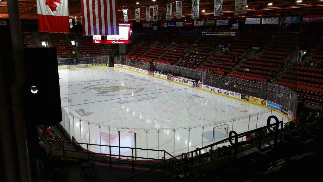 Floyd L. Maines Veterans Memorial Arena Section 24 Row M Seat 8