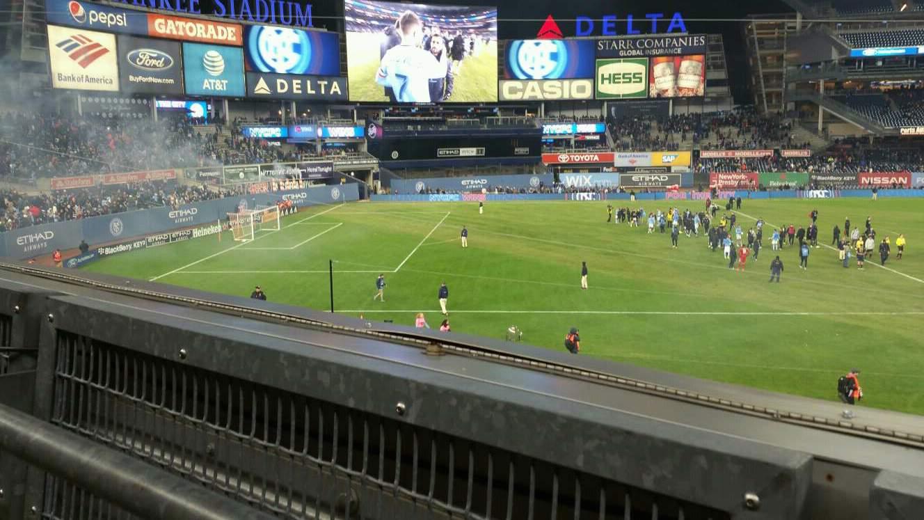 Yankee Stadium Section 227B Row 1 Seat 3