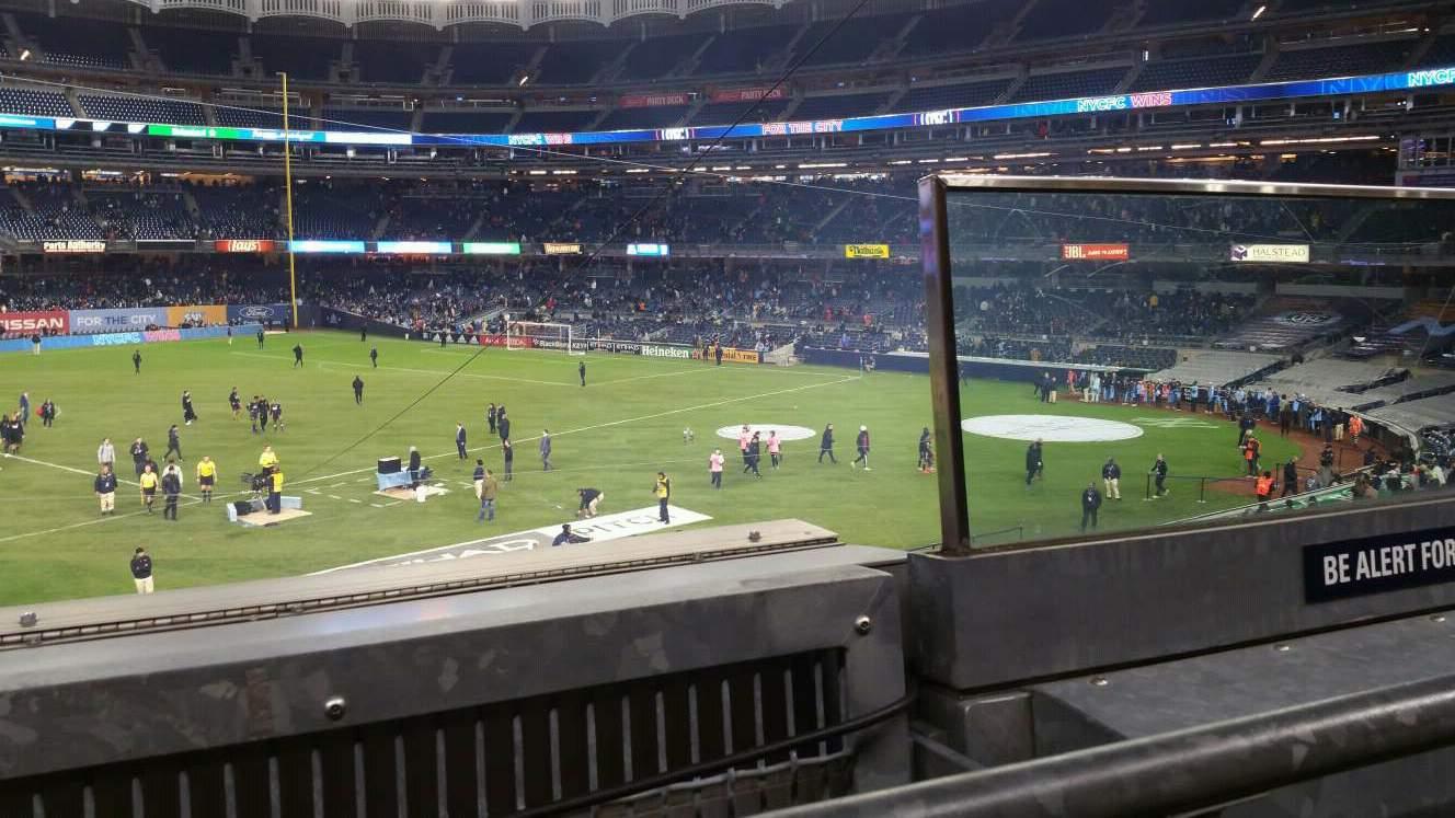 Yankee Stadium Section 227B Row 1 Seat 2