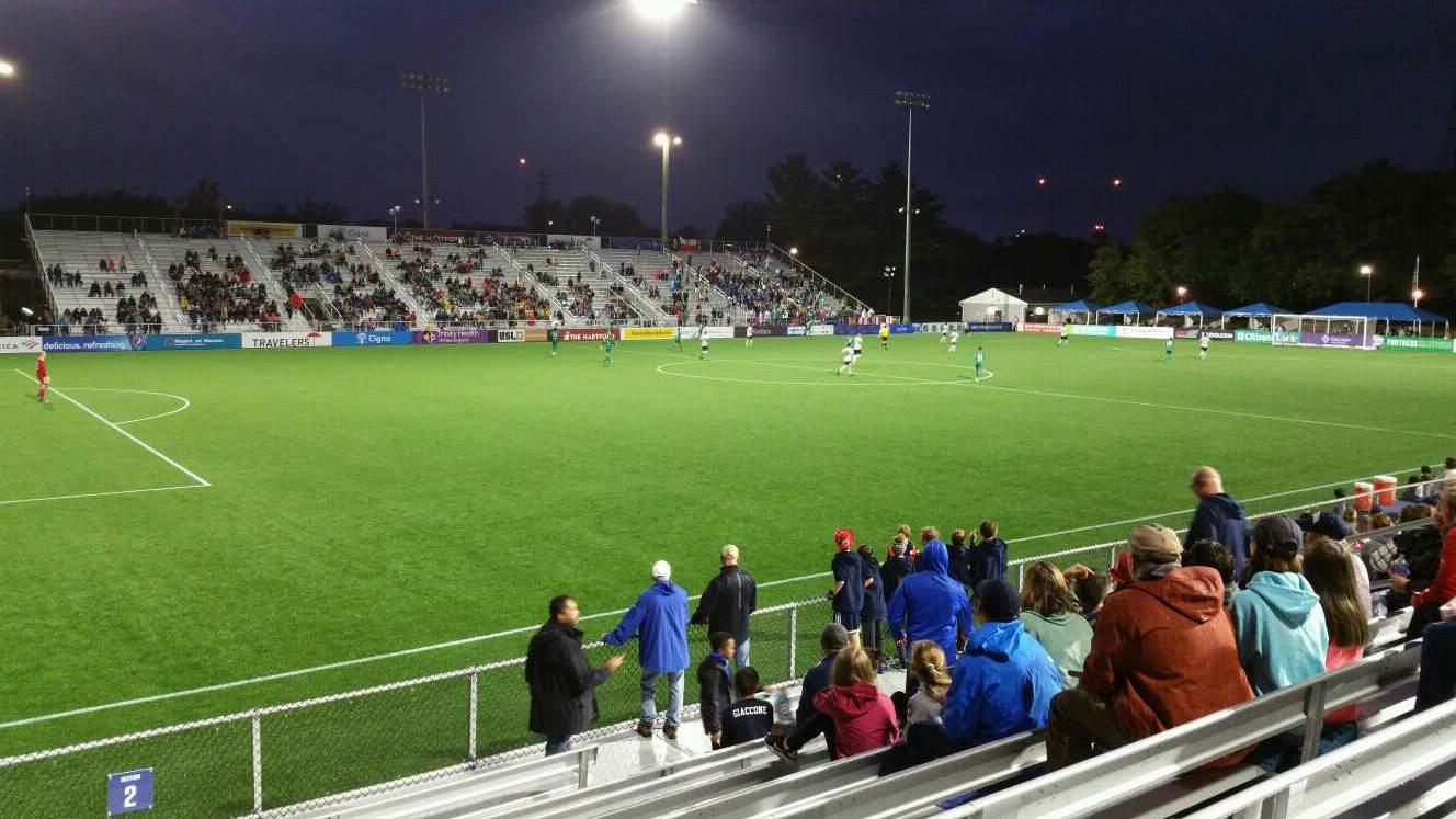 Dillon Stadium Section 2 Row I Seat 17