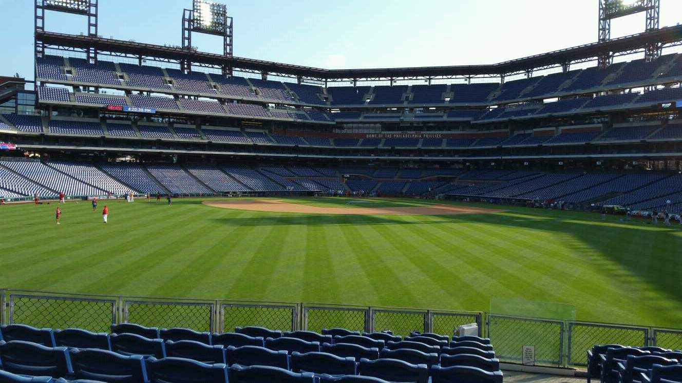 Citizens Bank Park Section 148 Row 14 Seat 1
