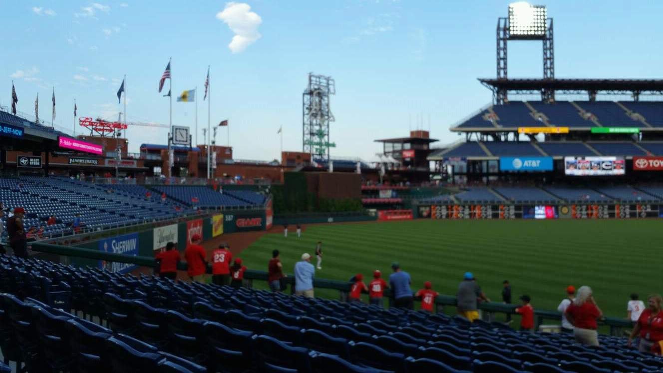 Citizens Bank Park Section 138 Row 26 Seat 9