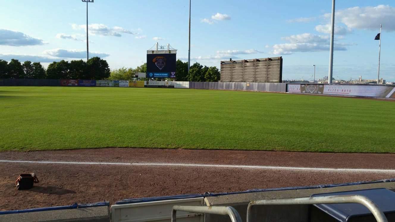 Richmond County Bank Ballpark Section 16 Row E Seat 1