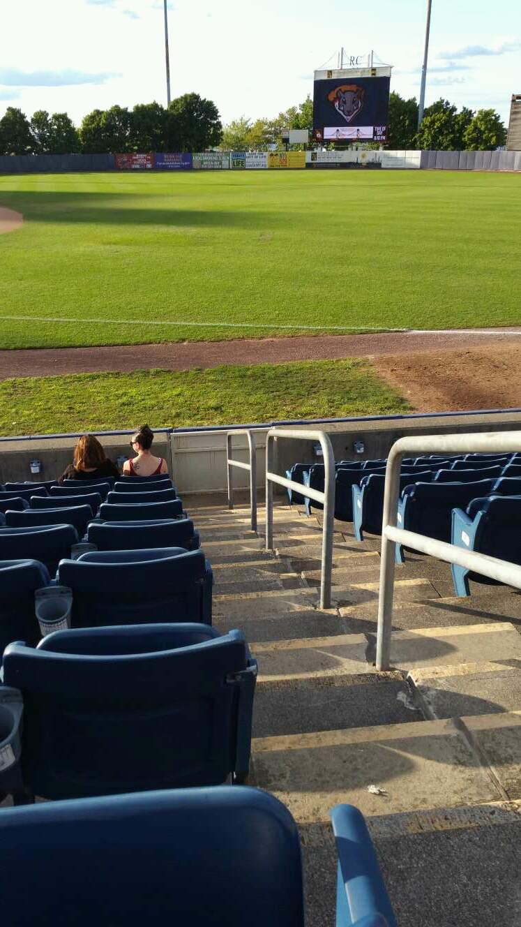 Richmond County Bank Ballpark Section 15 Row K Seat 1