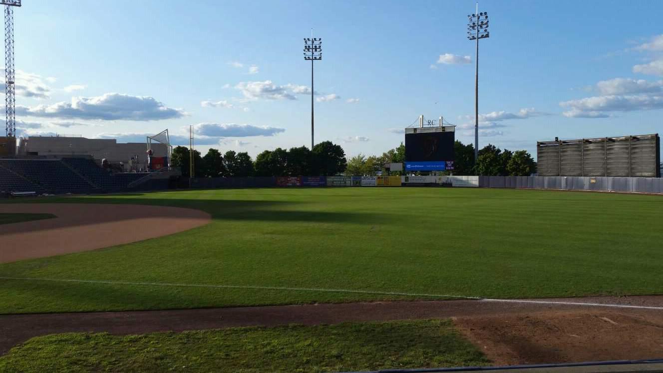 Richmond County Bank Ballpark Section 15 Row K Seat 1
