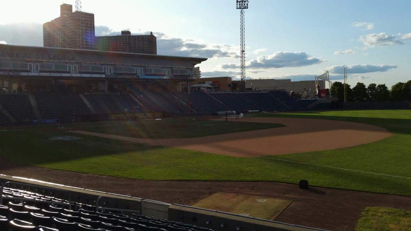 Richmond County Bank Ballpark Section 15 Row L Seat 9