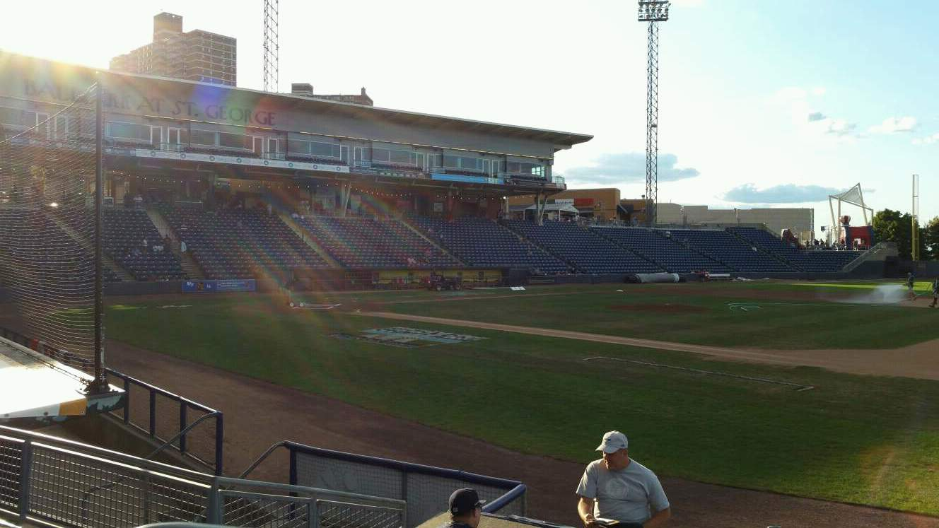 Richmond County Bank Ballpark Section 14 Row G Seat 24