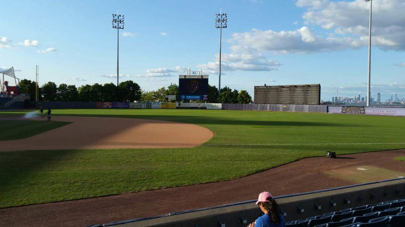 Richmond County Bank Ballpark Section 14 Row G Seat 24