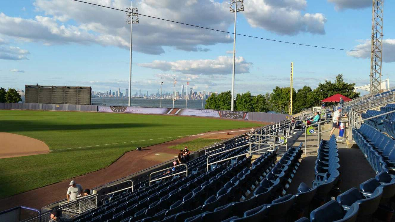 Richmond County Bank Ballpark Section 13 Row P Seat 23