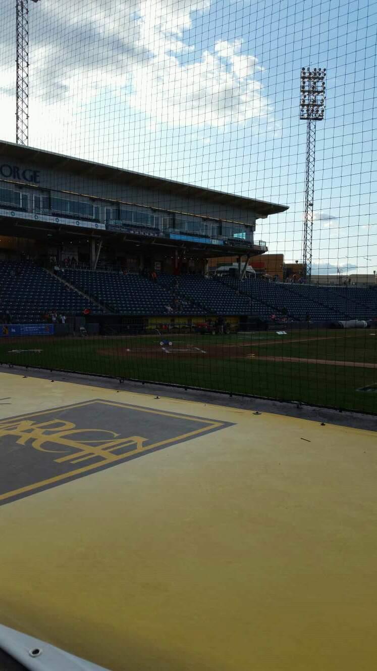 Richmond County Bank Ballpark Section 12 Row D Seat 11