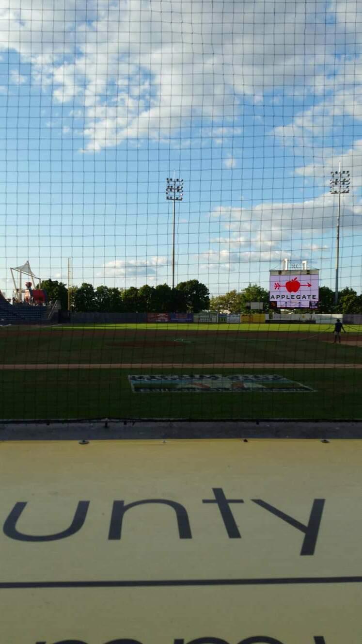 Richmond County Bank Ballpark Section 12 Row D Seat 22