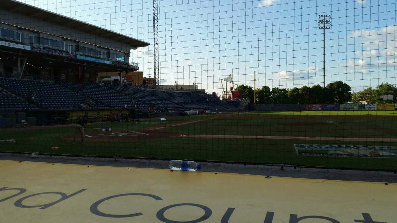Richmond County Bank Ballpark Section 12 Row D Seat 22