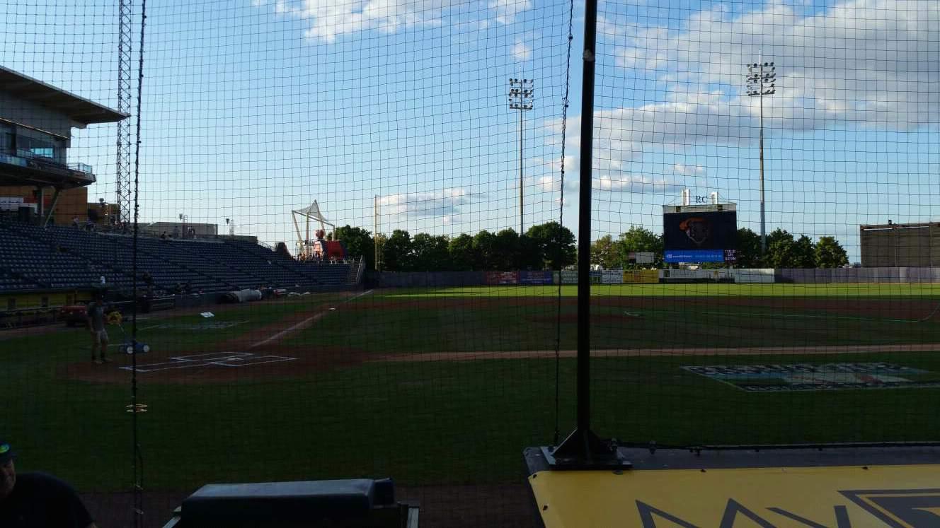 Richmond County Bank Ballpark Section 11 Row E Seat 9