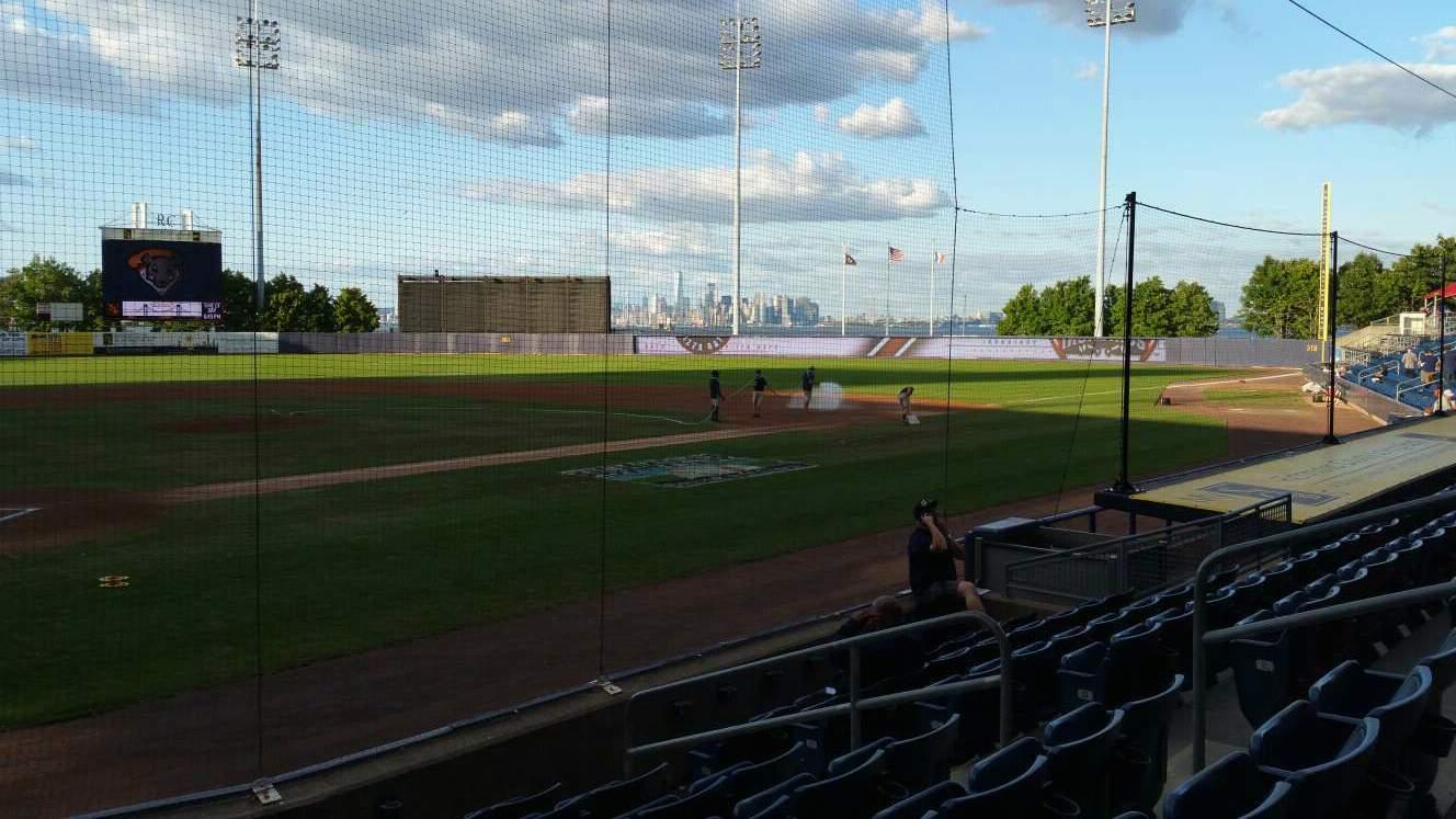Richmond County Bank Ballpark Section 10 Row H Seat 9
