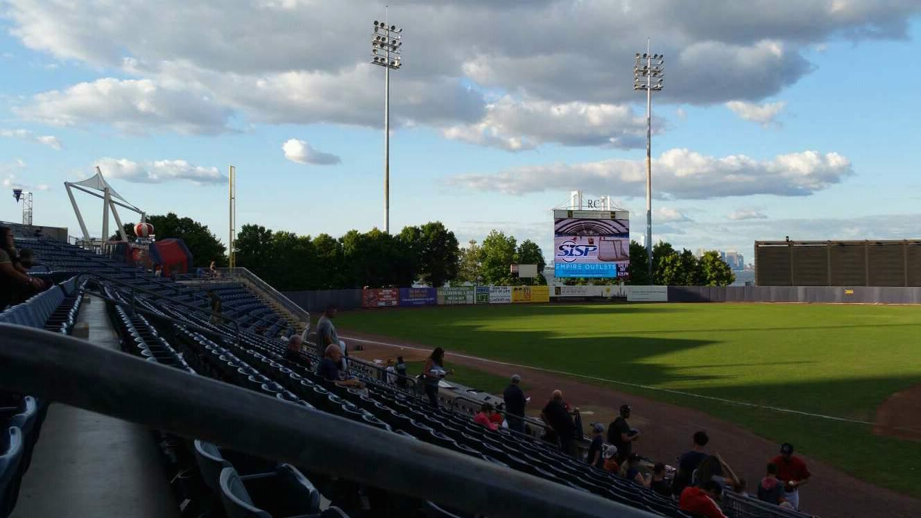 Richmond County Bank Ballpark Section 6 Row M Seat 22
