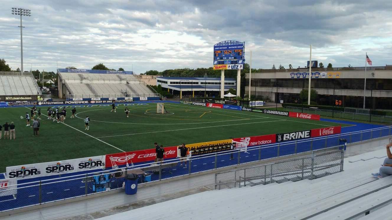 James M. Shuart Stadium Section 4 Row T Seat 1