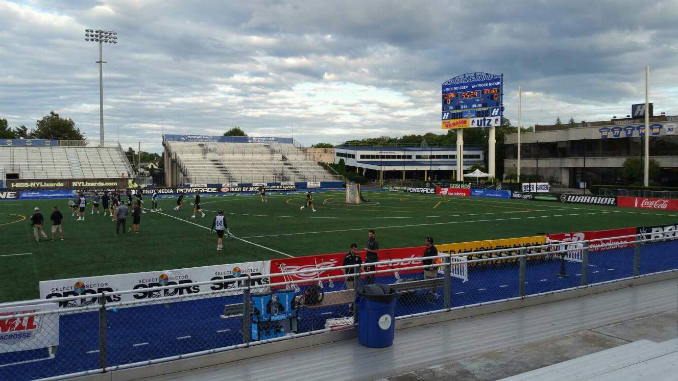 James M. Shuart Stadium Section 3 Row 8 Seat 27