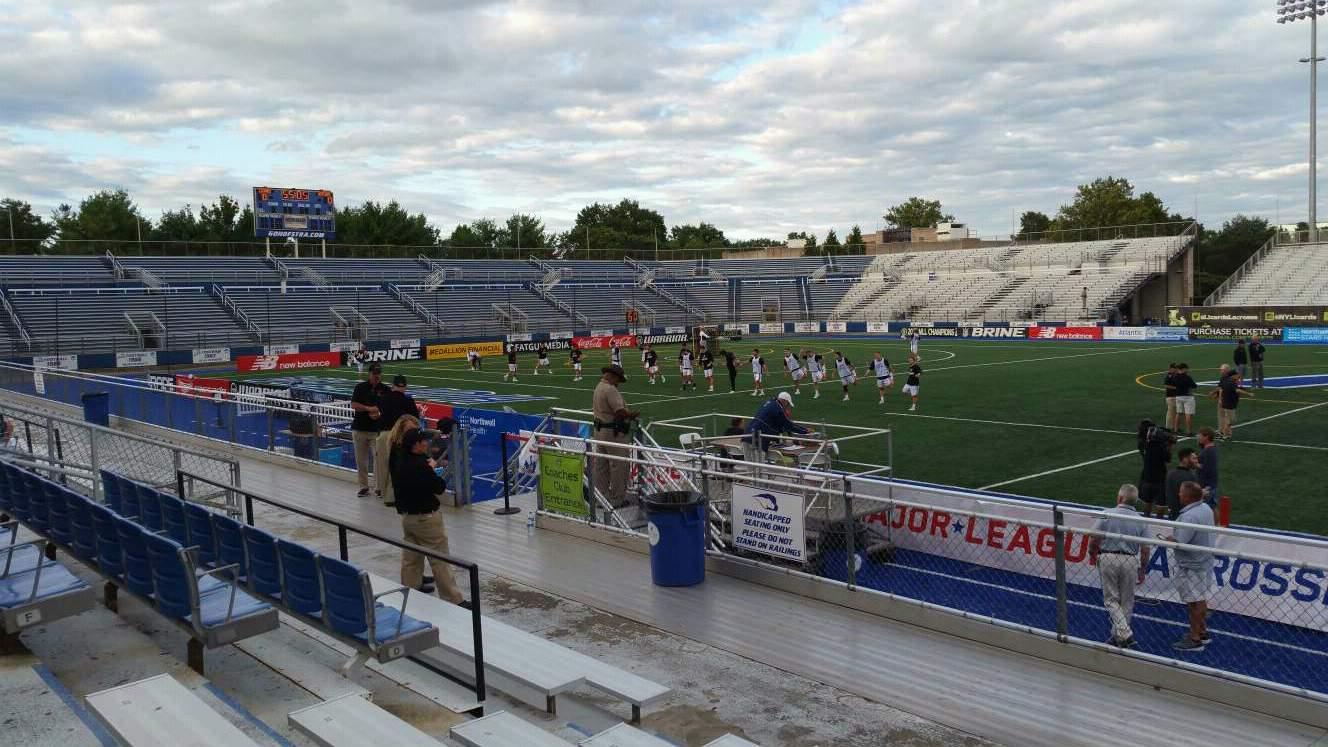 James M. Shuart Stadium Section 3 Row 8 Seat 20