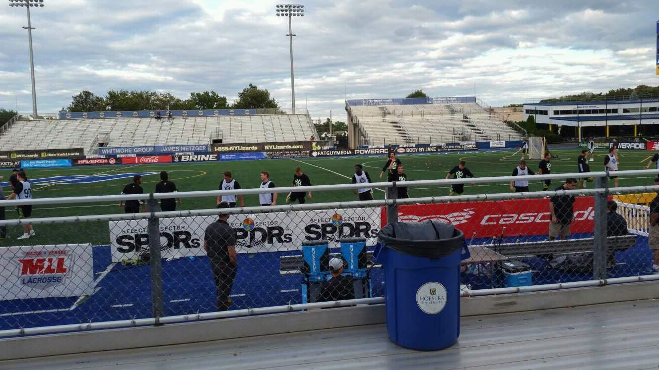 James M. Shuart Stadium Section 3 Row 3 Seat 20